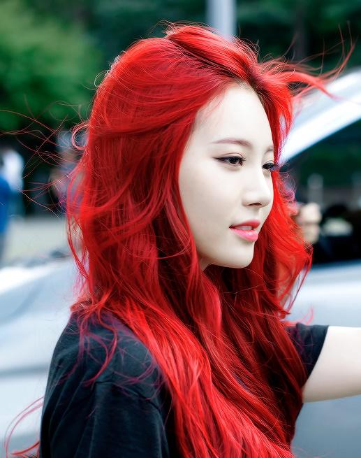 tinte rojo  cereza