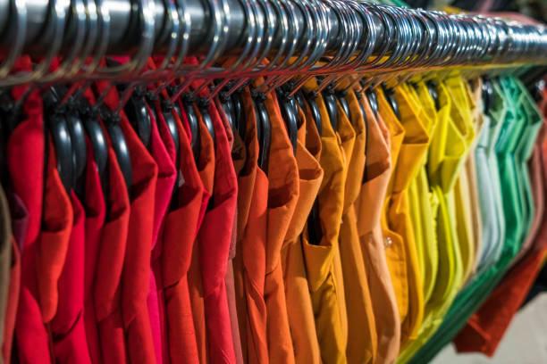 tinte de ropa de colores
