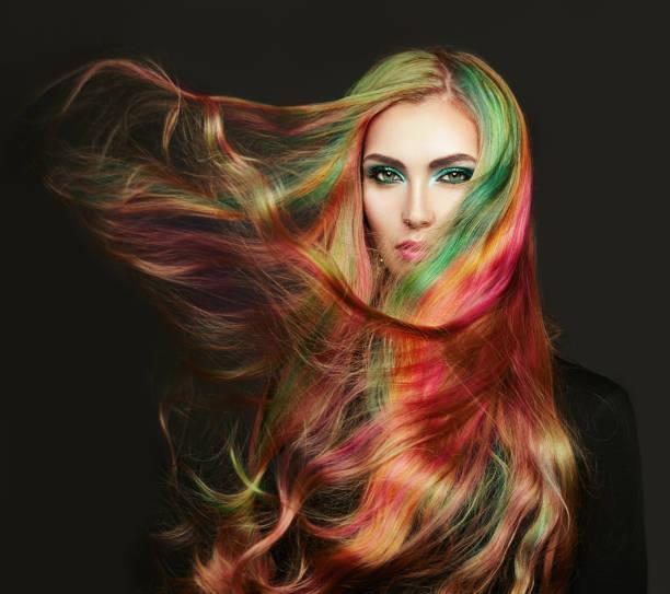 cabello con color intenso