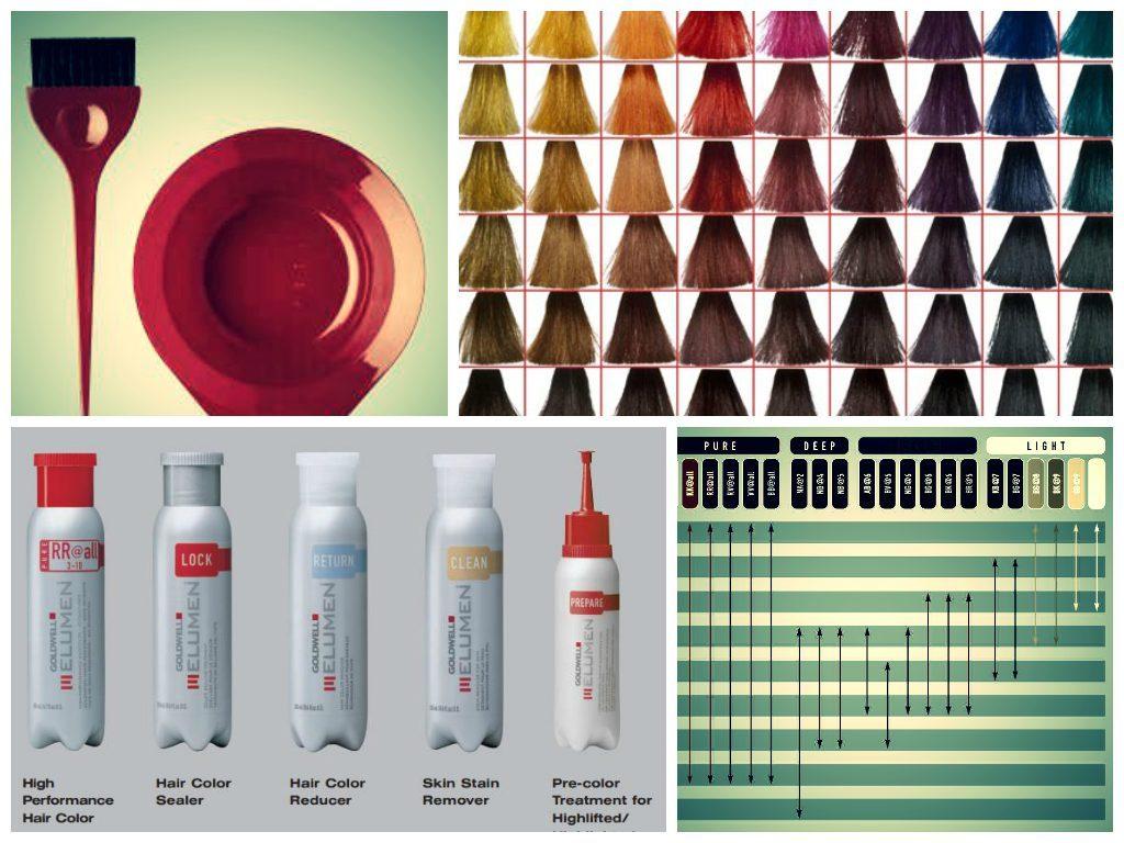 colores del tinte elumen