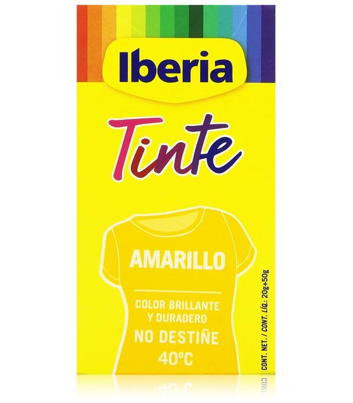 tinte de ropa iberia amarillo
