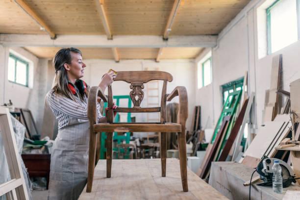 teñir la madera