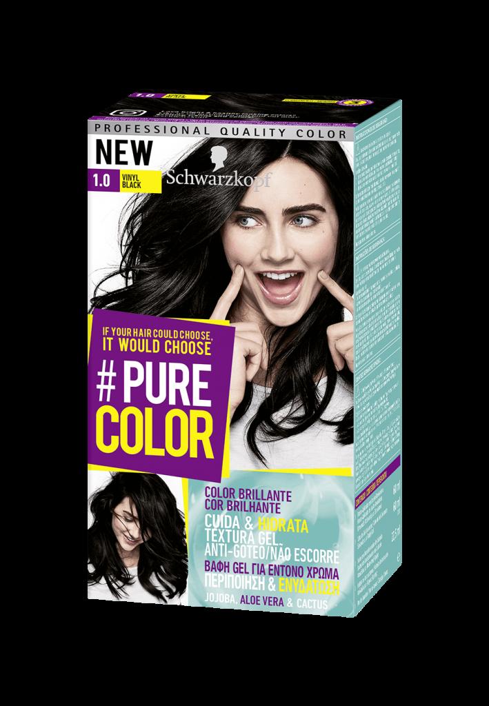 pure color tinte schwarzkopf