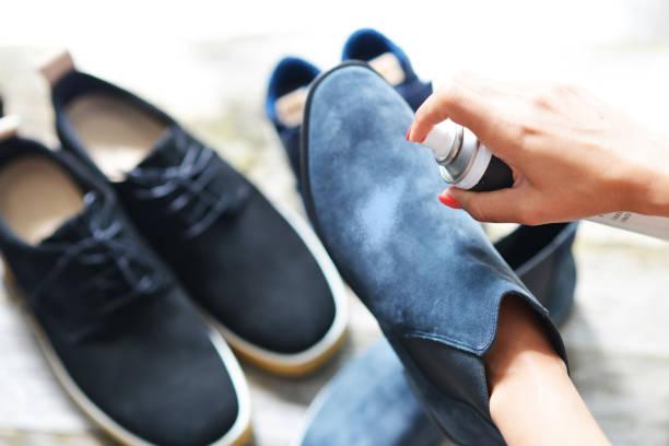 tinte de zapato de ante