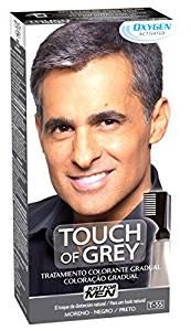 tinte para hombres touch grey
