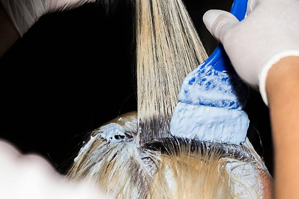 cubrir las canas con tinte de pelo