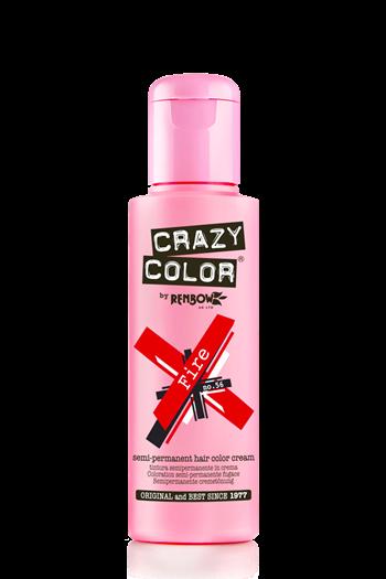 tinte crazy color rojo