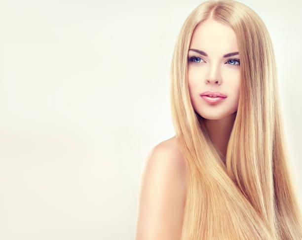 cabello rubio teñido