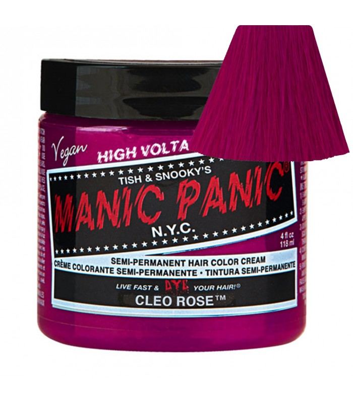 tinte manic panic semipermnente